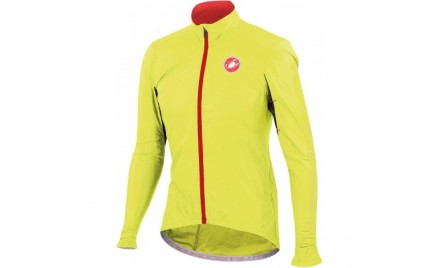 Castelli Velo Jacket Fluo Yellow