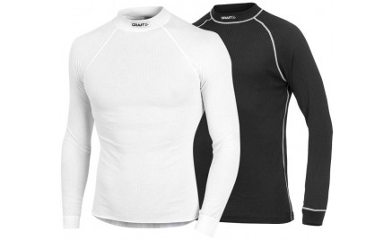 Craft Active 2-pack Longsleeve Top Black White