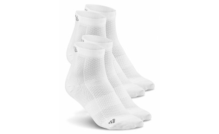 Craft Cool Mid 2-pack Sock White