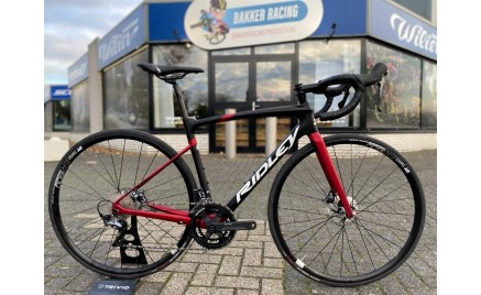 Ridley Fenix Disc 2021 Special Matte Black Red