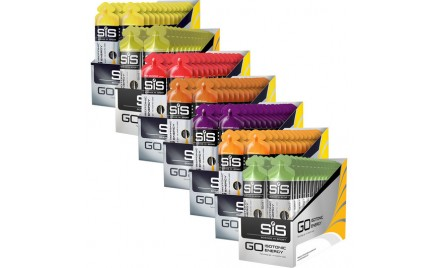 SIS Go Isotonic energy gel Box 30 x stuks THT
