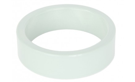 Balhoofd Spacer Vul Ring 10mm anodised Wit