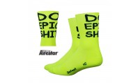 Defeet Aireator Hightop Do Epic Sh*t HiVis Yellow