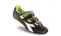 Diadora Trivex II Black White Yellow Fluo