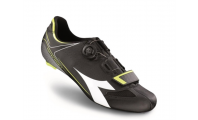 Diadora Vortex Racer II Black White Yellow