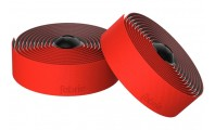Fabric Knurl Silicon Bar Tape Red
