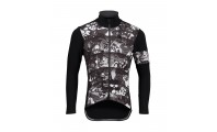 Pissei Gardena Jacket Cartoon Black