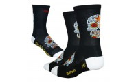 Defeet Aireator Hightop Sugar Skull Black White