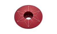 Supacaz Starcapz Anodized Red
